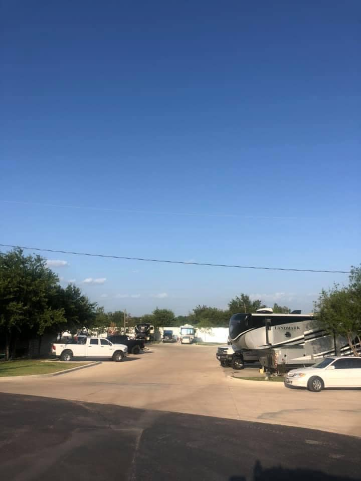 Paved RV Sites, Gallagher Acres RV Park, Fort Worth